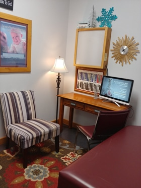 Chiropractic Winnebago IL Consultation Area