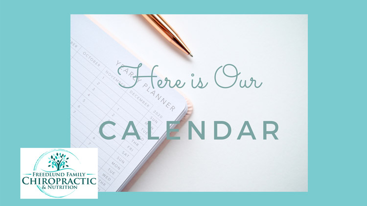 Upcoming Events at Freedlund Family Chiropractic & Nutrition